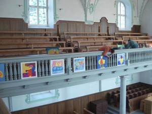 Bilder in der Kirche